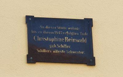 Christophine Reinwalds Bruder Anstelle von Friedrich Schillers Schwester